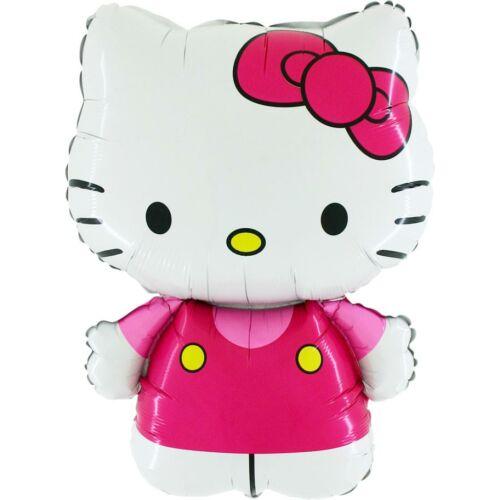 Pink ruhás hello kitty héliumos lufi