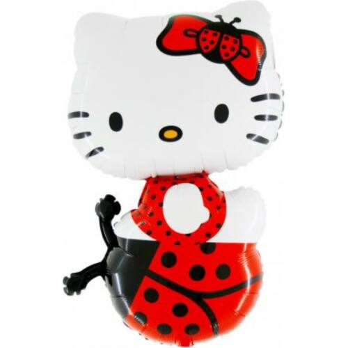 Katicás Hello Kitty héliumos lufi