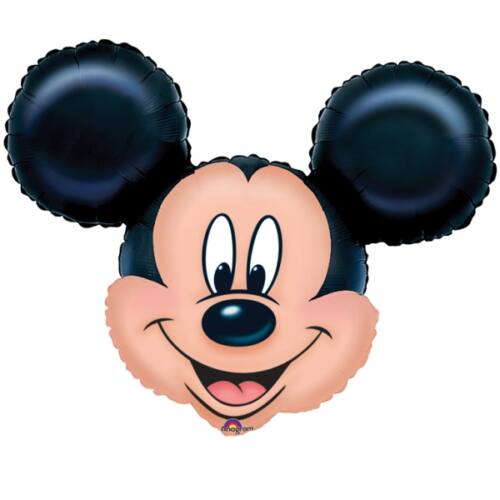 Mickey egér fej héliumos forma lufi