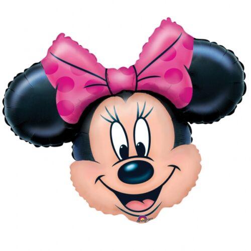 Minnie egér fej héliumos forma lufi