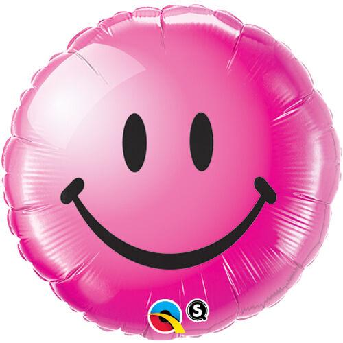 Pink smile héliumos lufi