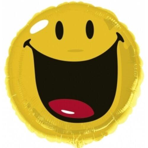 Nevetős smile héliumos lufi