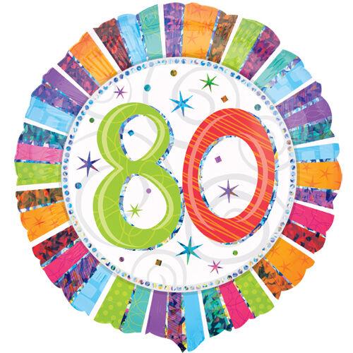80 színes csillagos héliumos lufi