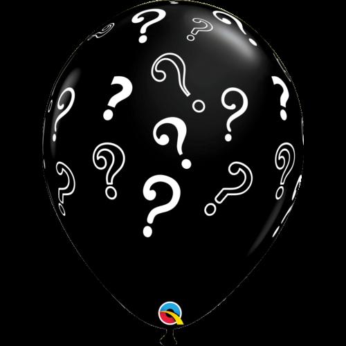 Kérdőjeles héliumos lufi 40 cm