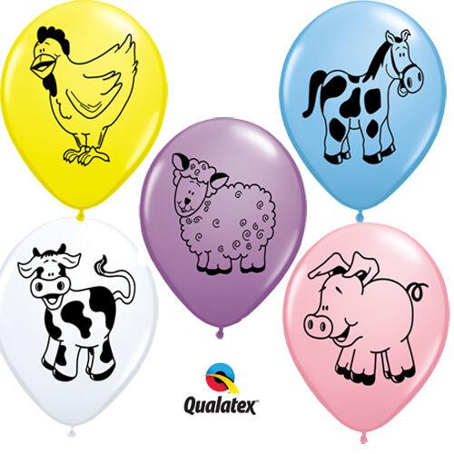Farm állatos héliumos lufi