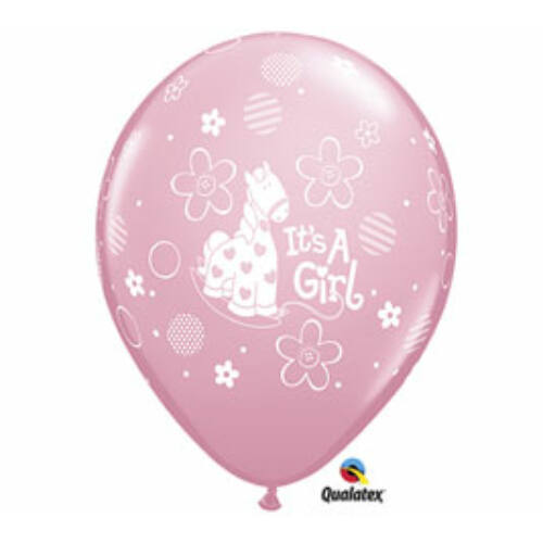 Pónis kislány érkezett héliumos lufi