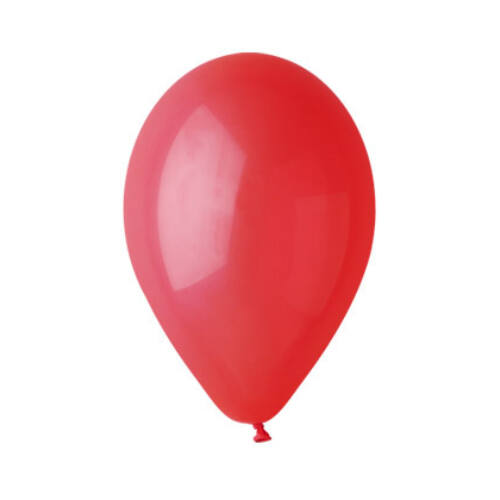 Piros lufi 28 cm