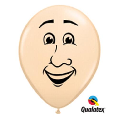 Férfi arc héliumos lufi