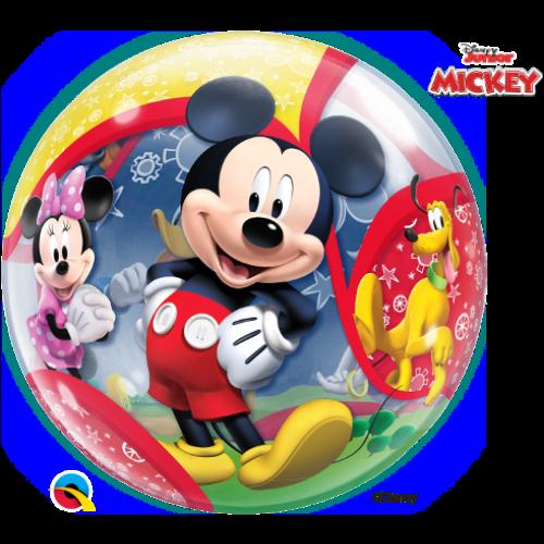 Mickey egér és barátai bubble héliumos lufi