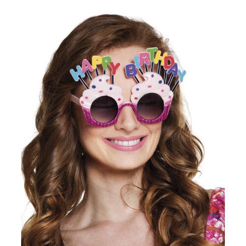 Muffinos szülinapi szemüveg