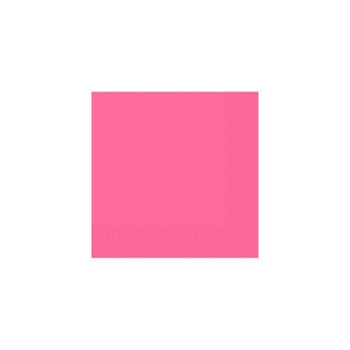 Pink szalvéta 33x33 cm 20 db