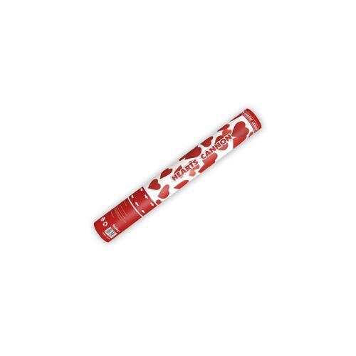 Piros szív konfetti ágyú