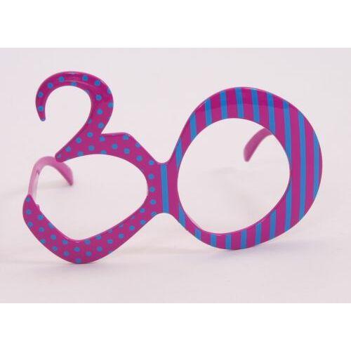 30. szülinapra szines szemüveg