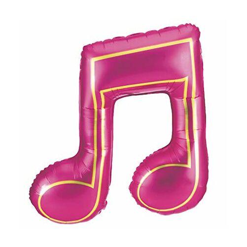Pink hangjegyes héliumos lufi