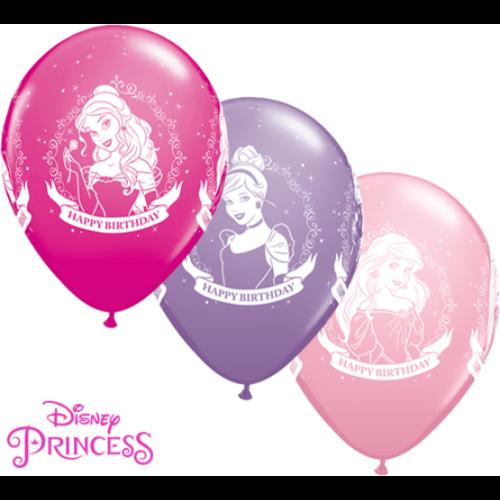 Hercegnős szülinapi héliumos lufi