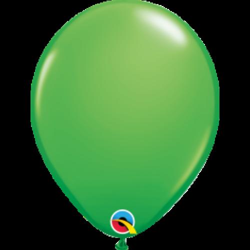 Tavaszi zöld héliumos lufi