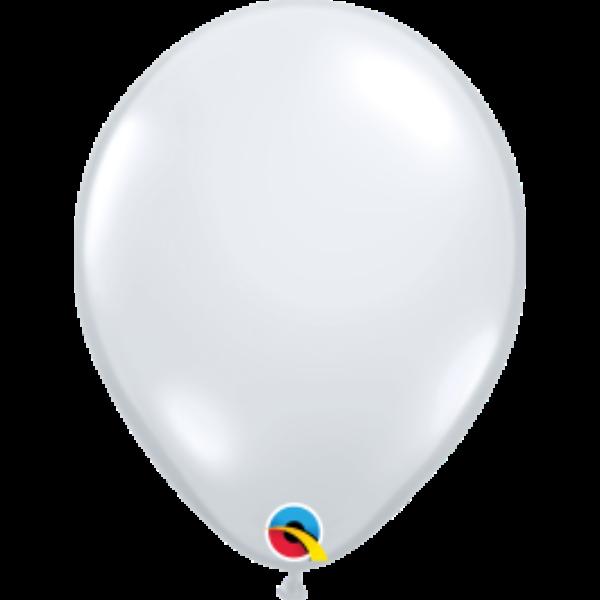 Átlátszó héliumos lufi