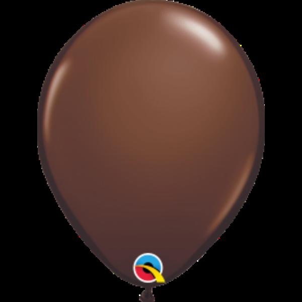 Csoki barna héliumos lufi