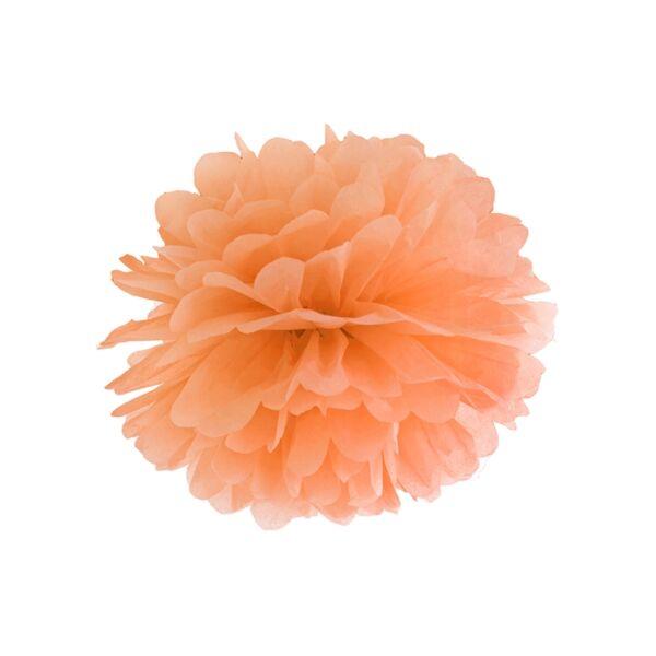 Narancs selyempapír pompom 35 cm