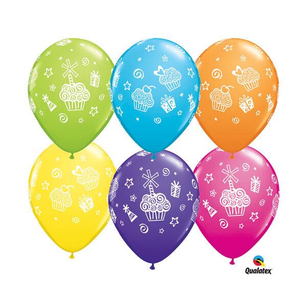 Szülinapi mintás héliumos lufi