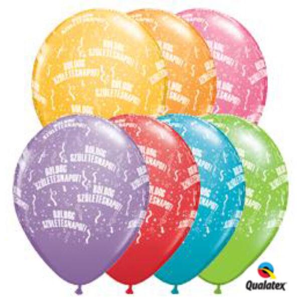 Boldog születésnapot héliumos lufi