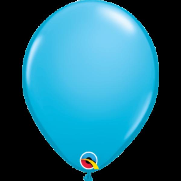 Égszinkék héliumos lufi