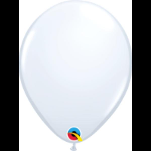 Fehér héliumos lufi