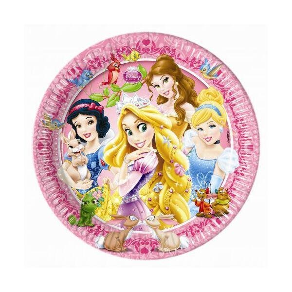 Hercegnők tányér állatos