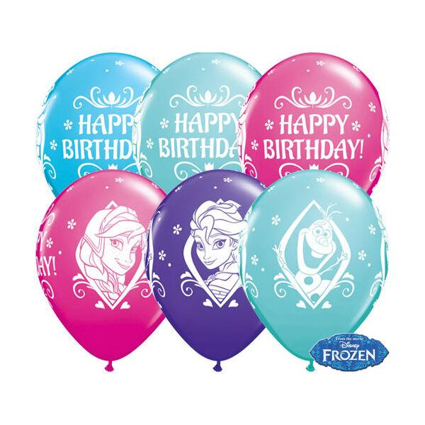 Jégvarázs - Frozen héliumos szülinapi lufi
