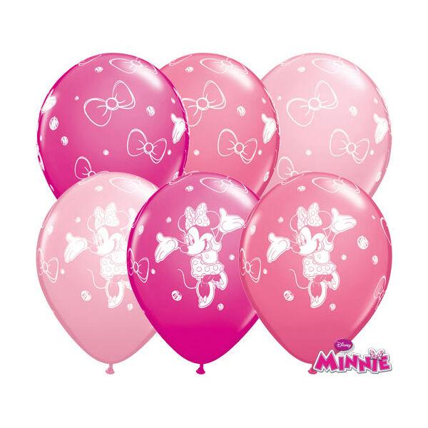 Minnie egér mintás héliumos lufi