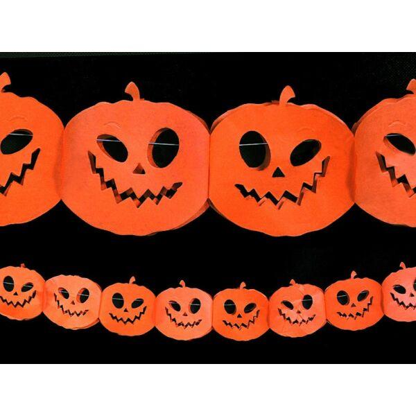 Halloween tök girland 3m