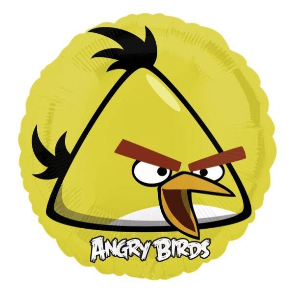 Angry birds héliumos lufi - Sárga madár 45 cm