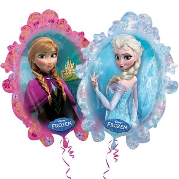 Jégvarázs Elsa és Anna héliumos lufi
