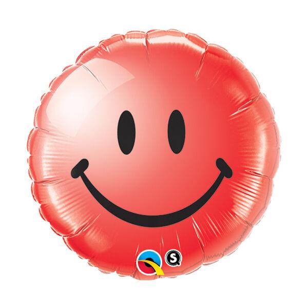 Piros smile héliumos lufi
