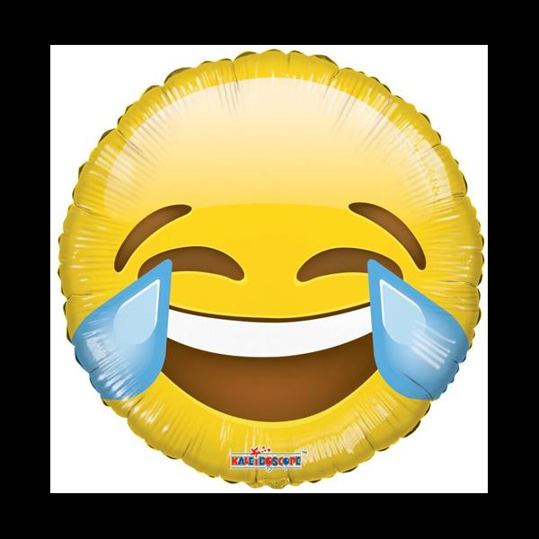 Könnyes emoji héliumos lufi