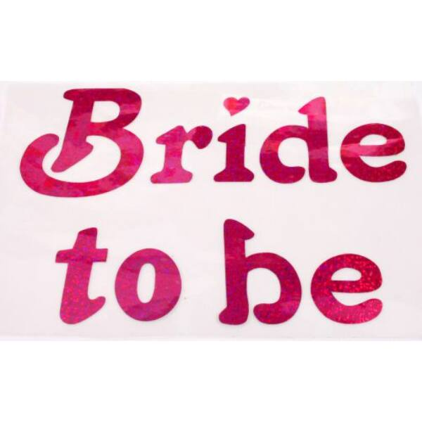 Bride to be matrica