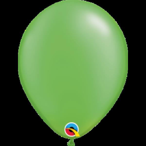 Lime zöld gyöngyházas lufi qualatex 28 cm