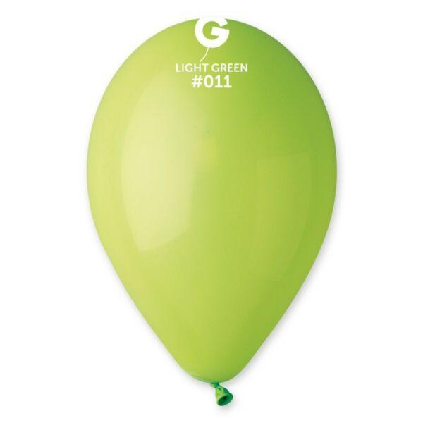 Lime zöld lufi 28 cm