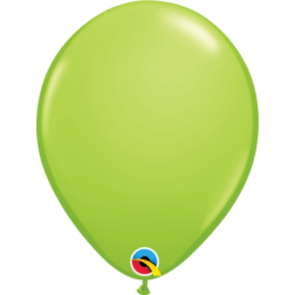 Lime zöld héliumos lufi