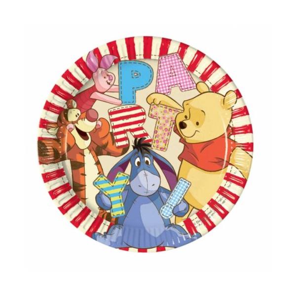Micimackó party tányér