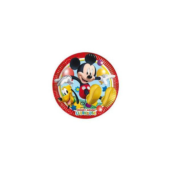 Mickey egér és barátai tányér