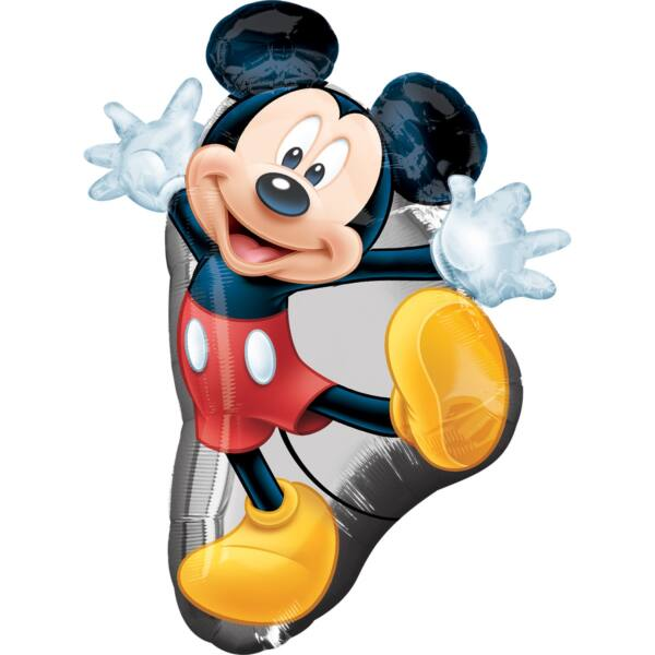 Mickey egér forma héliumos lufi