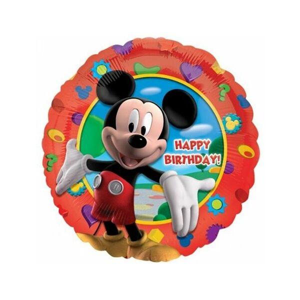 Mickey egér szülinapi héliumos lufi