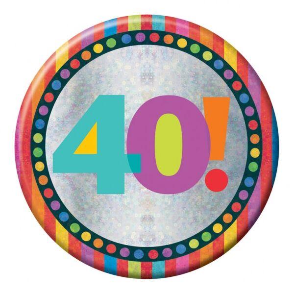 40. szülinapi prizmás nagy kitüző