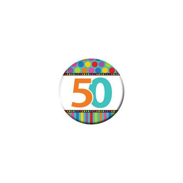 50. szülinapi színes kitüző