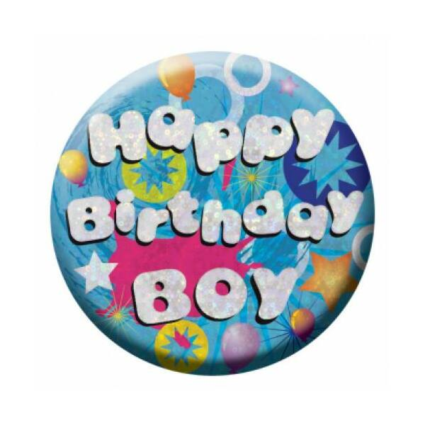 Prizmás birthday boy szülinapi kitüző