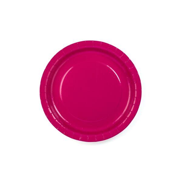 Pink tányér 6 db