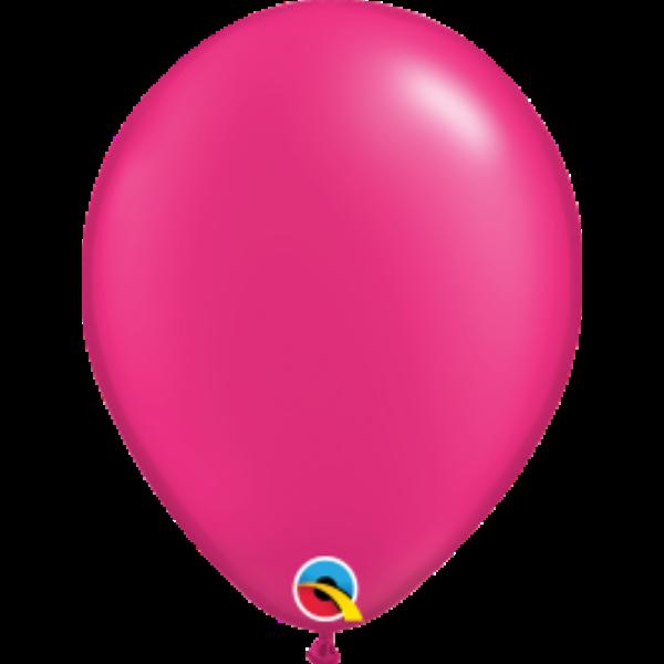 Pink gyöngyházas héliumos lufi
