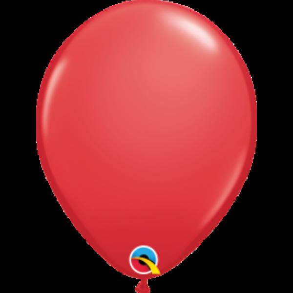 Piros héliumos lufi