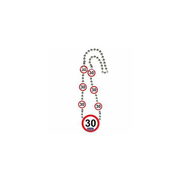 Sebességkorlátozó 30. szülinapi nyaklánc